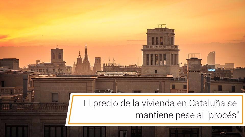"""cabecra cataluña - El precio de la vivienda en Cataluña se mantiene pese al """"procés"""""""
