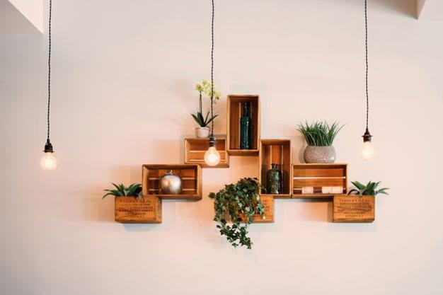 cajas decorativas - Ideas para decorar con materiales reciclados tu casa