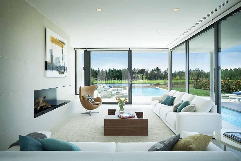 caldesdemalavella girona 2 1024x682 - 16 fantásticas casas con chimenea y rincones de calidez para los últimos días del invierno