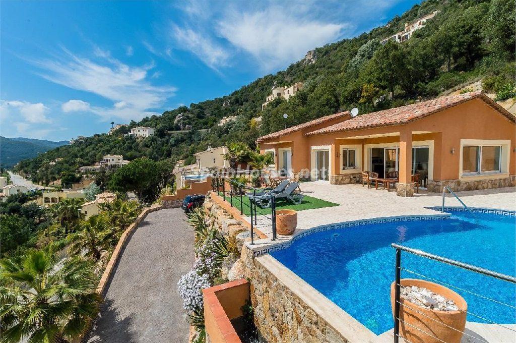 Casa independiente en alquiler de vacaciones en Calonge (Costa Brava, Girona)