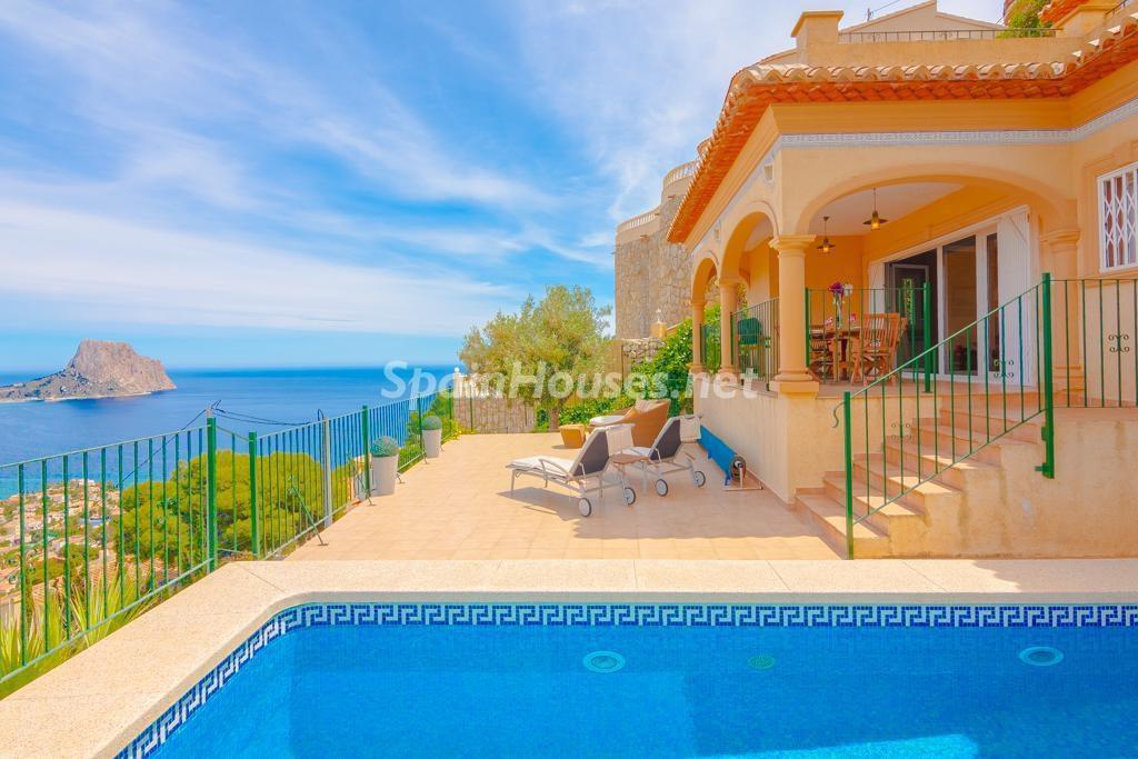 Villa en alquiler de vacaciones en Calpe (Costa Blanca, Alicante)