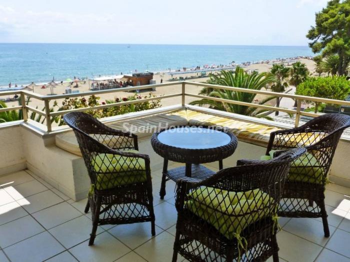 cambrils tarragona - Áticos: espectaculares terrazas con un bonito toque urbano o fantásticas vistas al mar