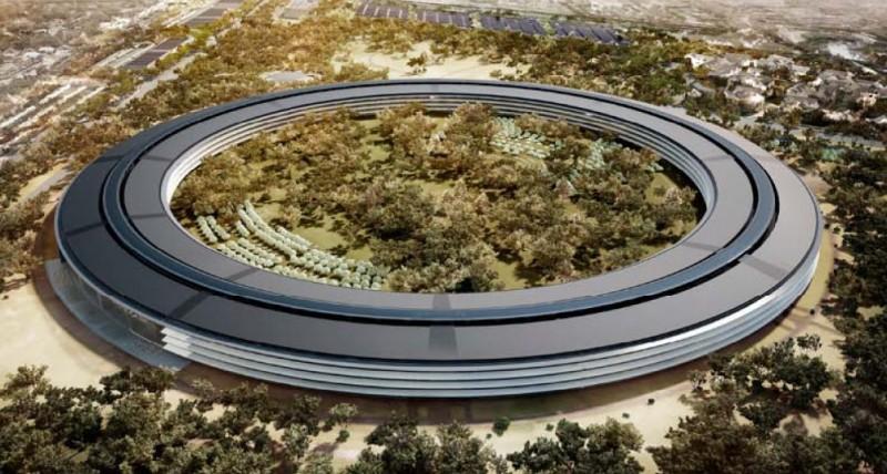 campus apple 800x428 - Nueva sede Apple, la construcción del mejor edificio de oficinas en el mundo