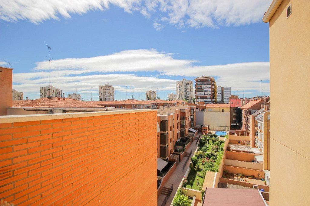 Vistas desde una vivienda en Hortaleza, Madrid
