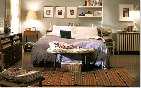 carrie bedroom - Carrie Bradshaw vende su apartamento
