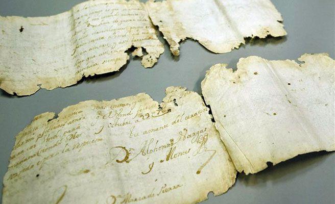 Carta de amor escondida desde hace 300 años