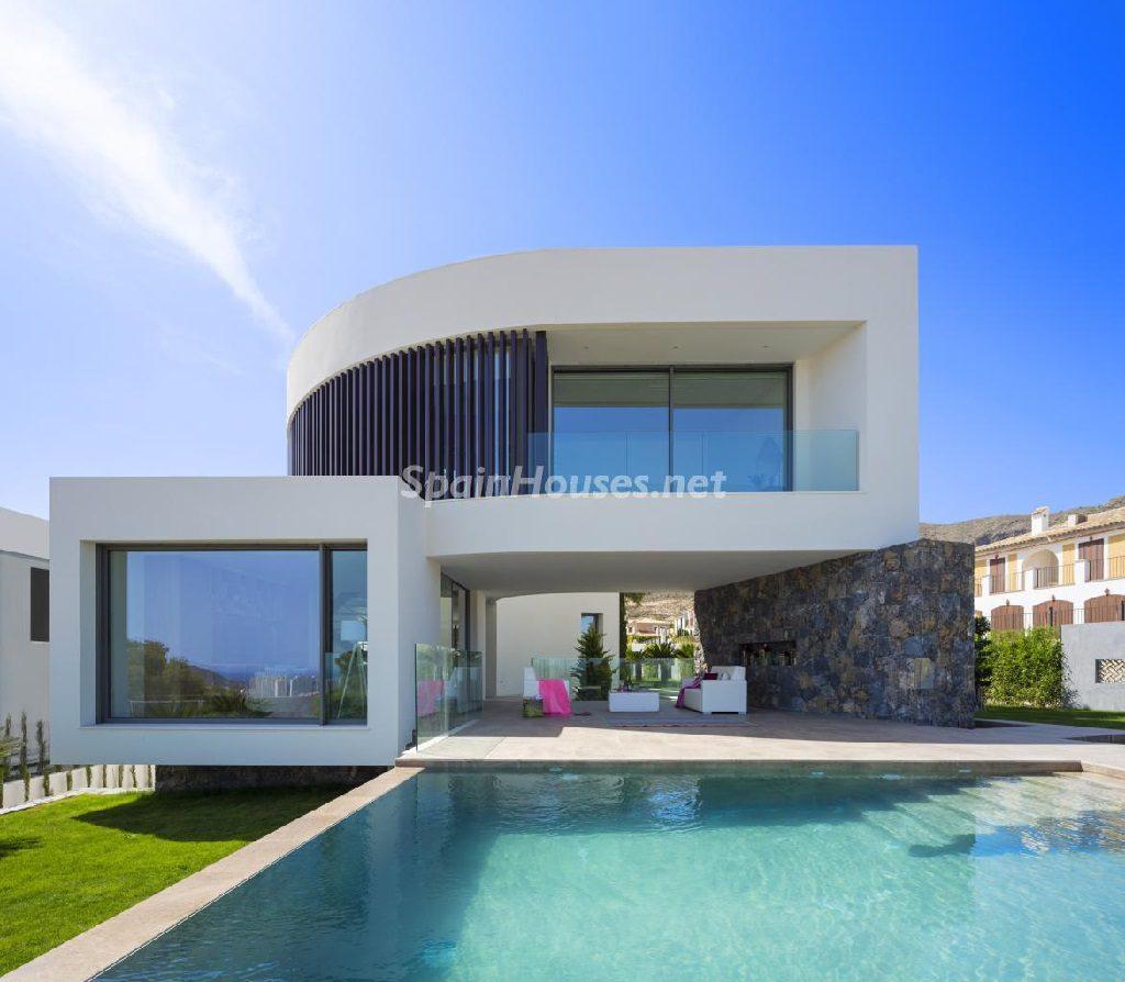 casa 16 1024x894 - Diseño contemporáneo a estrenar en una fantástica villa en Finestrat (Costa Blanca, Alicante)
