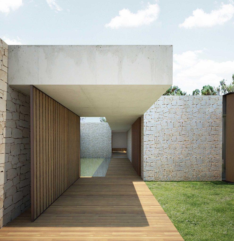 casa 18 993x1024 - En La Cañada, casa contemporánea y minimalista a 5 km de Valencia