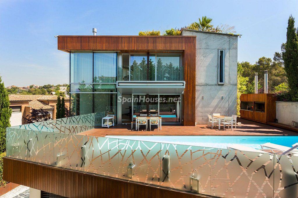 Chalet en la Sierra de Collserola (Barcelona): lujo y diseño para disfrutar