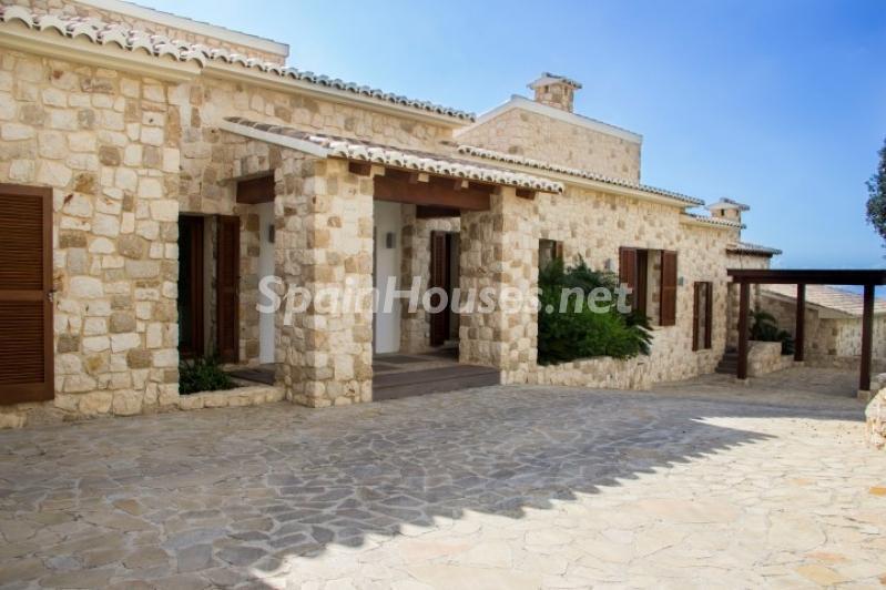 casa 9 - Lujosa casa vestida de piedra en Benitachell (Costa Blanca) con vistas panorámicas al mar