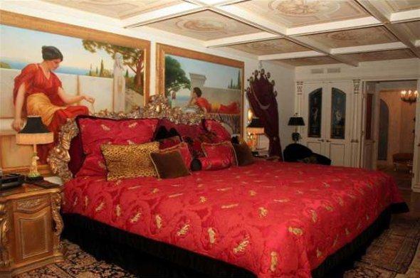 Dormitorio estilo oriental muy bonito