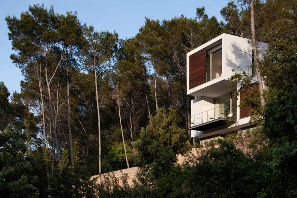 casa exterior 7 - Diseño modular y mediterráneo en una genial casa en Pollensa (Mallorca, Baleares)