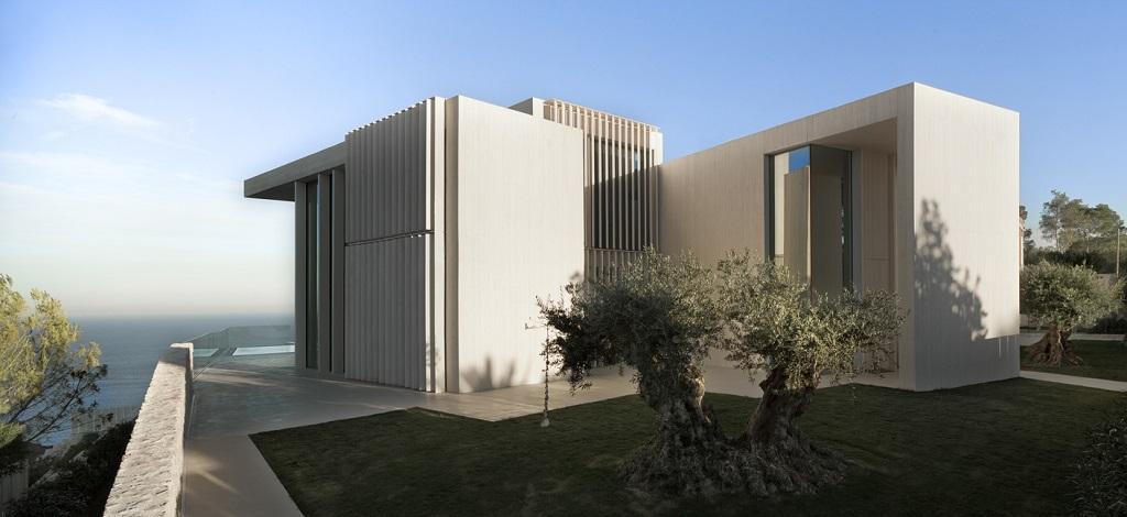casa posterior - Casa Sardinera, Jávea (Costa Blanca): diseño imponente y liviano frente al mar