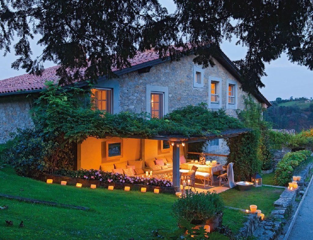 casa principal 1024x786 - Nochevieja y Año Nuevo en una casa perfecta para una fiesta campestre y romántica
