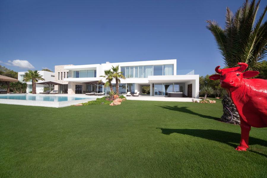 casa vacaroja - Espectacular y luminosa casa de diseño frente al mar en Cala d'Or, Santanyí (Mallorca)