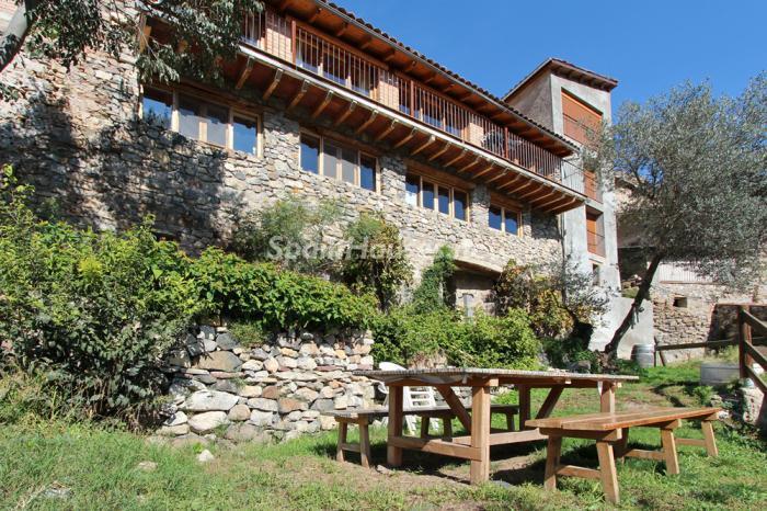 casa113 - El encanto rural de una casa de piedra entre las montañas de Baix Pallars, Lleida