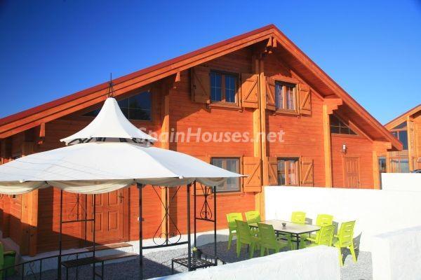 casa114 - Bonita casa de madera finlandesa a los píes de Sierra Nevada (Granada)