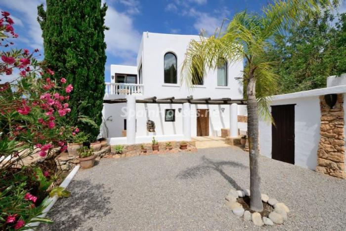 casa118 - Bonita villa en Santa Eulalia (Ibiza, Baleares): toque mediterráneo y mucha privacidad