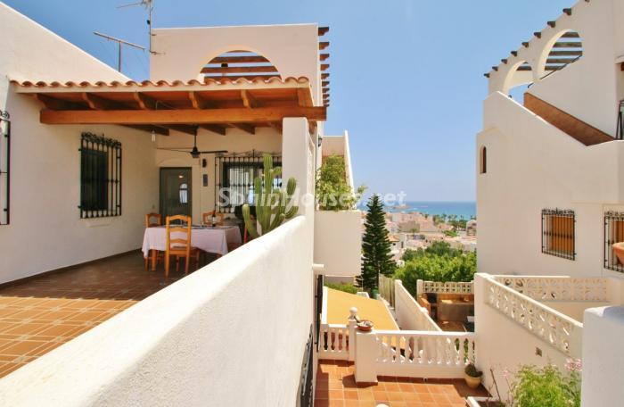casa120 - Gran chalet de 6 dormitorios con vistas a la Isla de San Andrés, Carboneras (Almería)