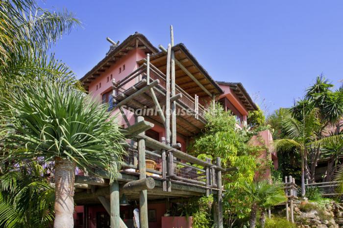 casa26 - Genial villa de vacaciones en El Rosario, Marbella, con una preciosa decoración oriental