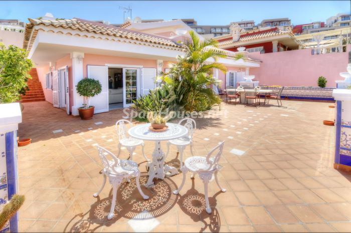 casa27 - Bonita casa con encanto y estupendas vistas al mar en Costa Adeje, Tenerife (Islas Canarias)