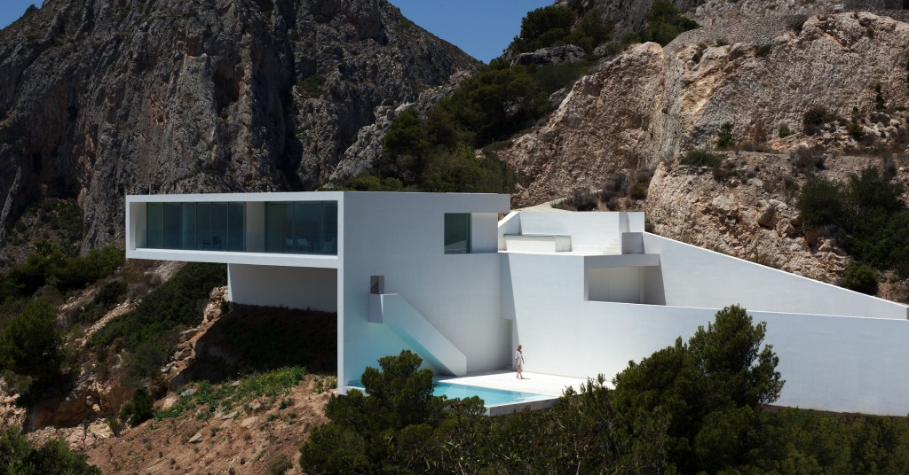 Casa en el acantilado, Calpe (Costa Blanca, Alicante)