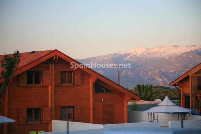 casa39 - Bonita casa de madera finlandesa a los píes de Sierra Nevada (Granada)