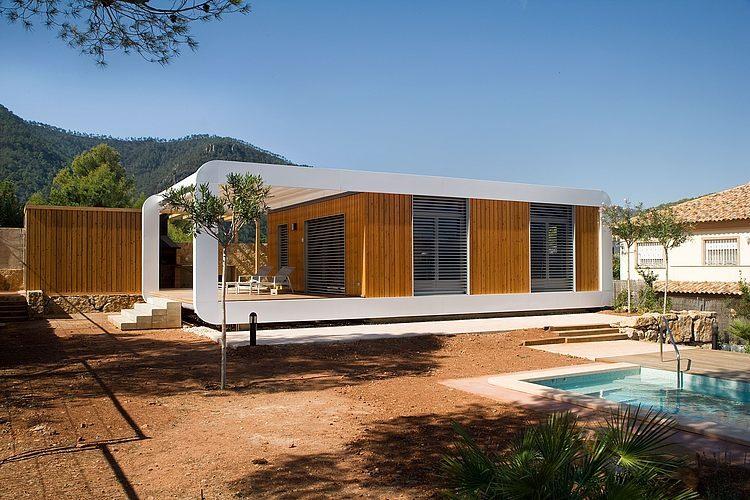 casa42 - Genial casa prefabricada, bioclimática y tecnológica en Castellón de la Plana