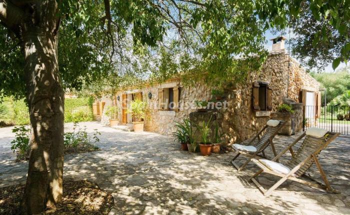 casa44 - Vacaciones en Mallorca: escapada rural a una encantadora casa de campo en Búger