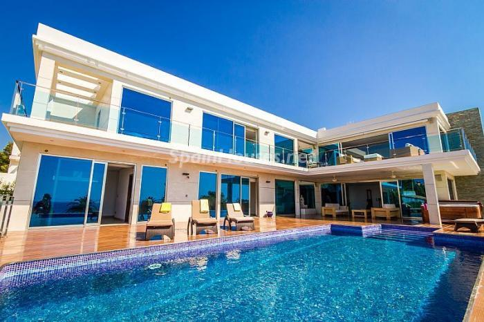 casa47 - Moderna villa con fantásticas vistas al mar en Les Basetes, Calpe (Costa Blanca)