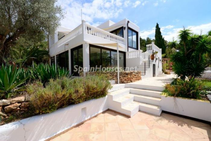 casa53 - Bonita villa en Santa Eulalia (Ibiza, Baleares): toque mediterráneo y mucha privacidad
