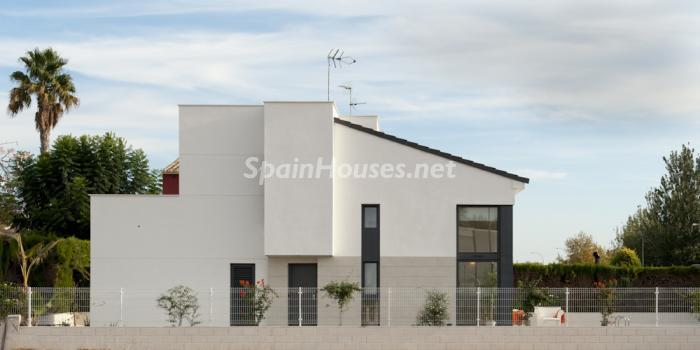 casa58 - Coqueto y moderno chalet de diseño en Santiago de la Ribera (Costa Cálida, Murcia)