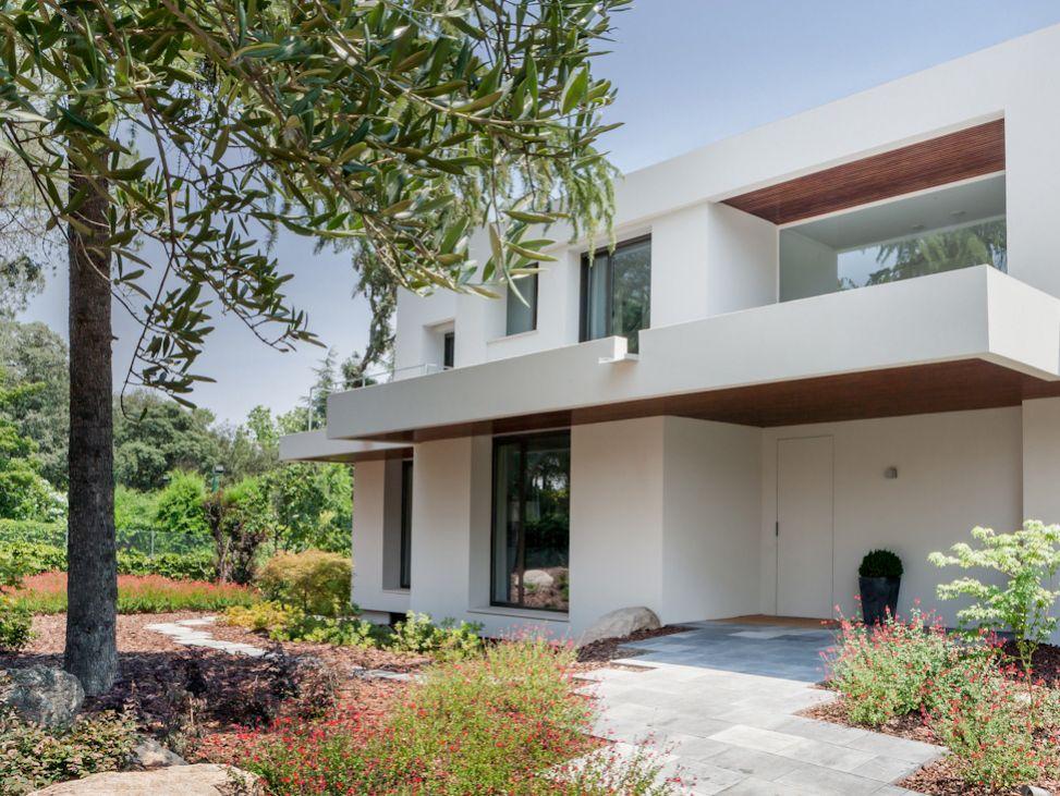 casa60 - Genial toque otoñal y minimalista en una fantástica casa en La Moraleja (Alcobendas, Madrid)