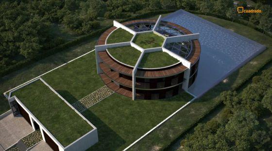 """casa messi - Arquitectura: La posible """"super casa"""" de Leo Messi"""
