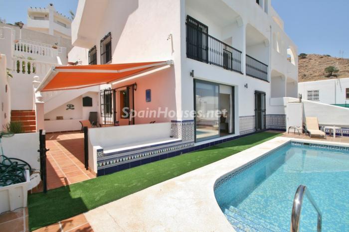 casaypiscina15 - Gran chalet de 6 dormitorios con vistas a la Isla de San Andrés, Carboneras (Almería)