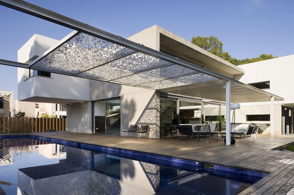 casaypiscina18 - Luz, volumen y espacio en una fantástica casa en el Pinar del Grao, Castellón de la Plana
