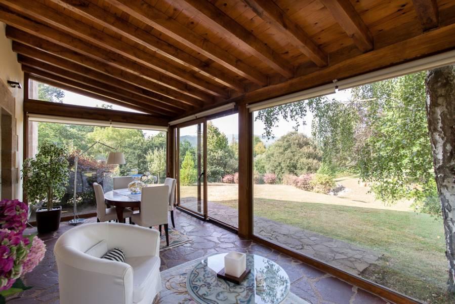 castañeda cantabria - De verde y primavera: 18 espectaculares casas con un amplio y soleado jardín