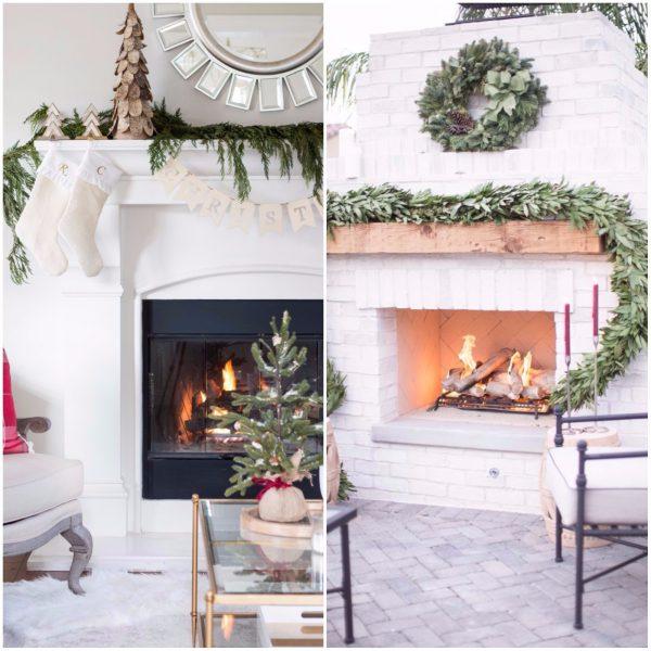 chimenea 4 600x600 - Guía para decorar tu casa al estilo de ¡Oh, Blanca Navidad!