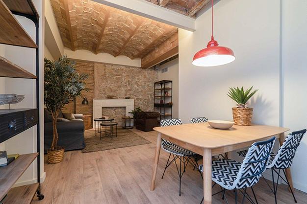 cmedor raval - Moderno apartamento en el centro de Barcelona para los que buscan un estilo único