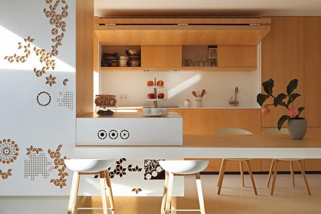 cocina 36 1024x682 - Precioso ático de diseño en Valencia: 70 metros de luz, funcionalidad y encanto