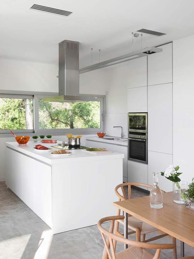 cocina 75 - Diseño modular y mediterráneo en una genial casa en Pollensa (Mallorca, Baleares)