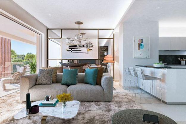 cocina 87 - Ático de lujo en Mallorca: moderno, minimalista y de alto diseño