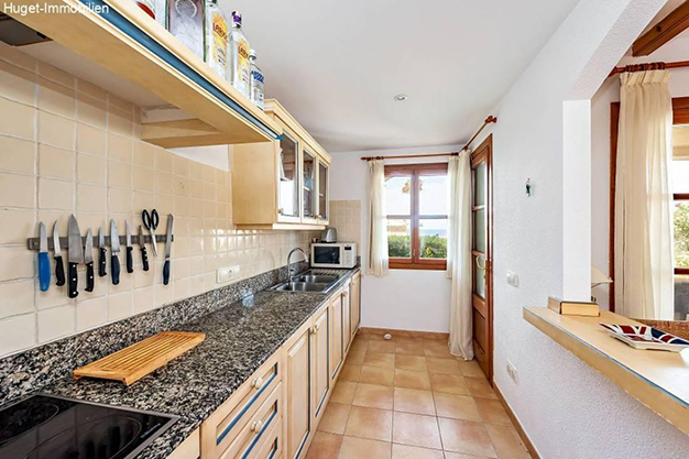 cocina 90 - Tranquilidad isleña en este precioso apartamento frente al mar en Mallorca