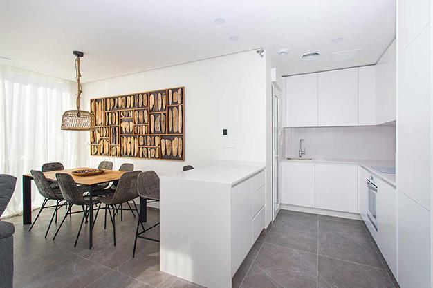cocina alicante - Casa cerca de la playa en Alicante con calidades de lujo