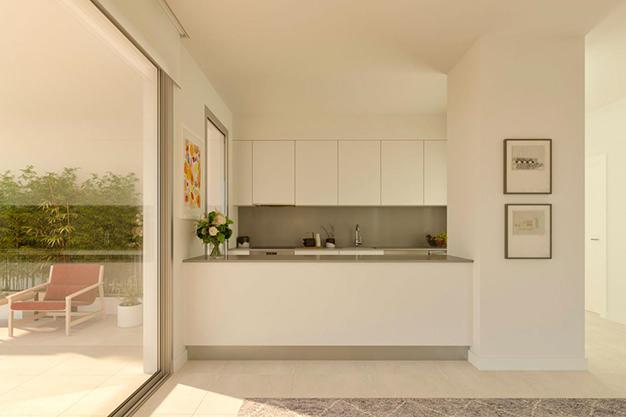 cocina americana casa costa del sol - Lujoso apartamento en la Costa del Sol para comenzar una nueva vida