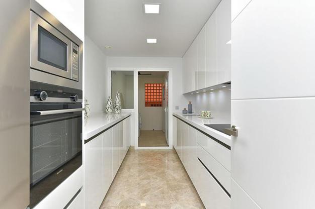 cocina apartamento marbella - Lujoso apartamento en el centro de Marbella, a 5 minutos de Puerto Banús