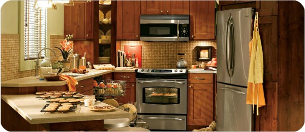 cocina azulejos - Pisos pequeños: Ideas para decorar tu salón-cocina