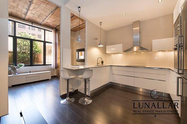 cocina piso diseno barcelona - Fabuloso piso de diseño en Barcelona centro