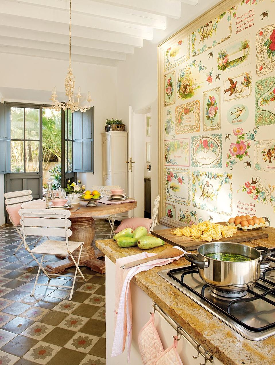 cocina - De antigua estación de tren a romántica casa llena de claridad y encanto