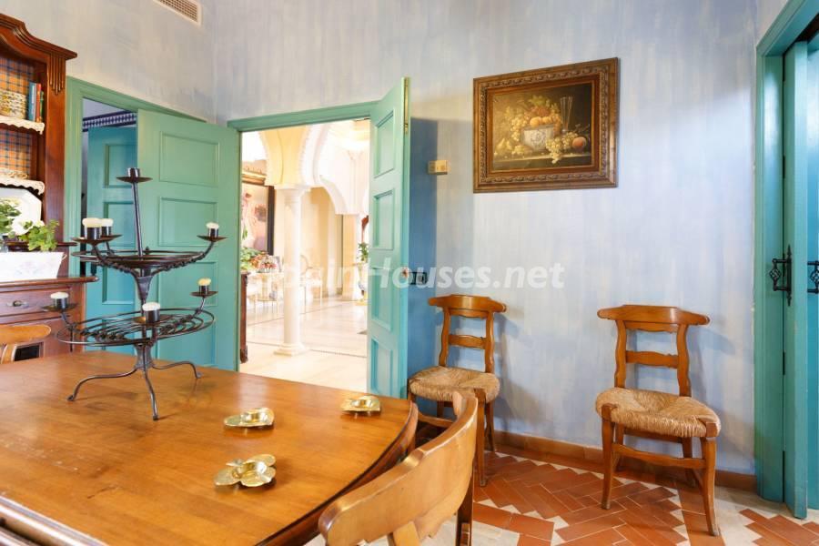 cocina1 4 - Estilo mudéjar lleno de encanto en un espectacular chalet en el Aljarafe de Sevilla